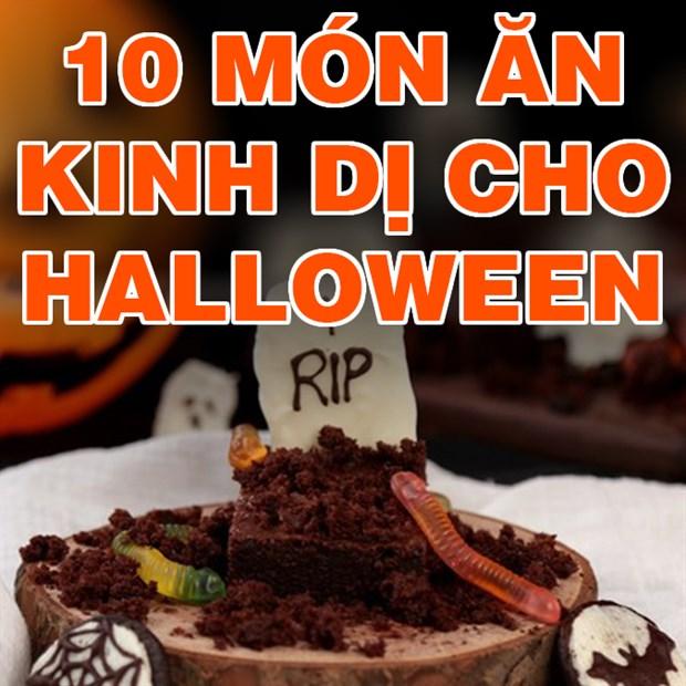 Tổng hợp 10 món ăn kinh dị trong ngày Halloween