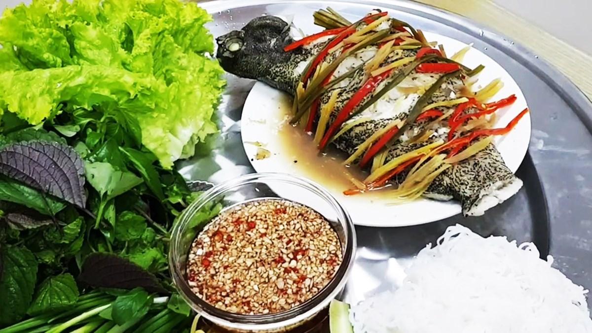 Cách làm cá mú hấp xì dầu ngon và đơn giản