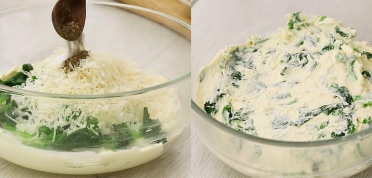 Bước 3 Sơ chế các nguyên liệu khác Ức gà nướng nhồi kem phô mai