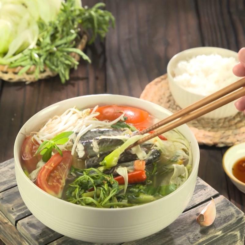 Bước 6 Thành phẩm Cách nấu canh chua cá kèo