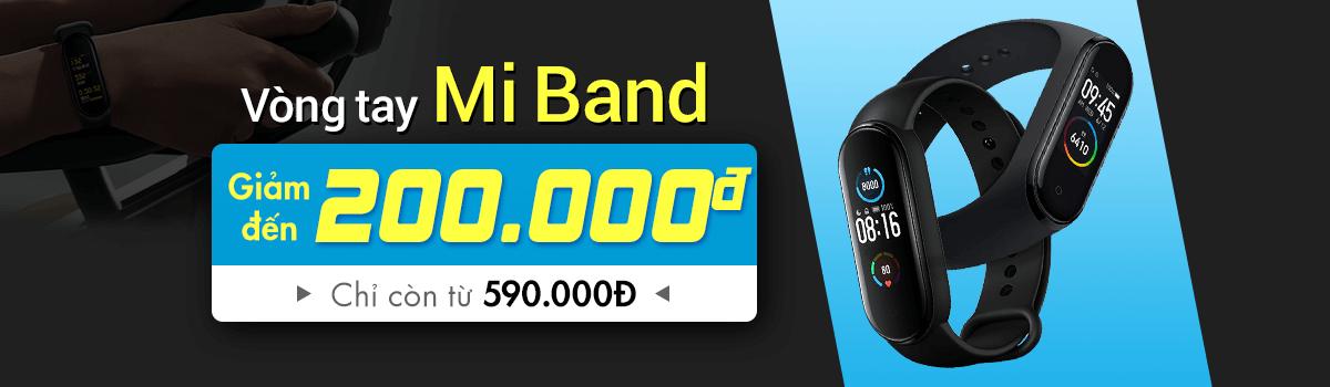 Mi Band 5[break]Chỉ 1000 Suất