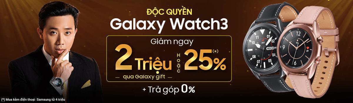 Galaxy Watch3[break]Giảm Ngay 25%