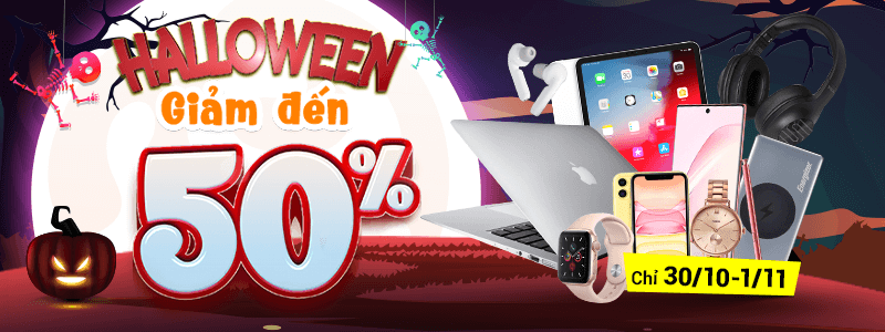 Halloween[break]Giảm Đến 50%