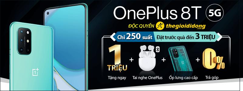 Đặt Trước OnePlus 8T[break]Quà Đến 3 Triệu