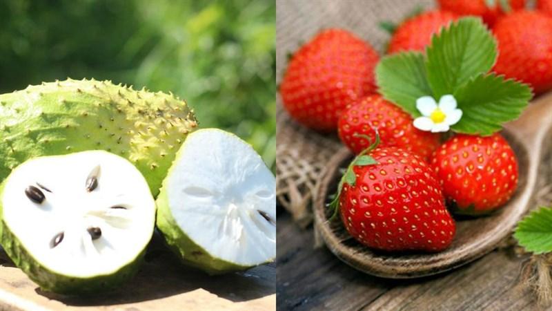 Nguyên liệu món ăn 3 cách làm sinh tố mãng cầu