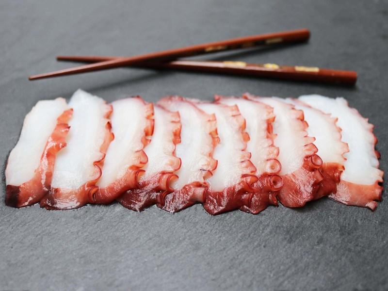 sashim bạch tuộc