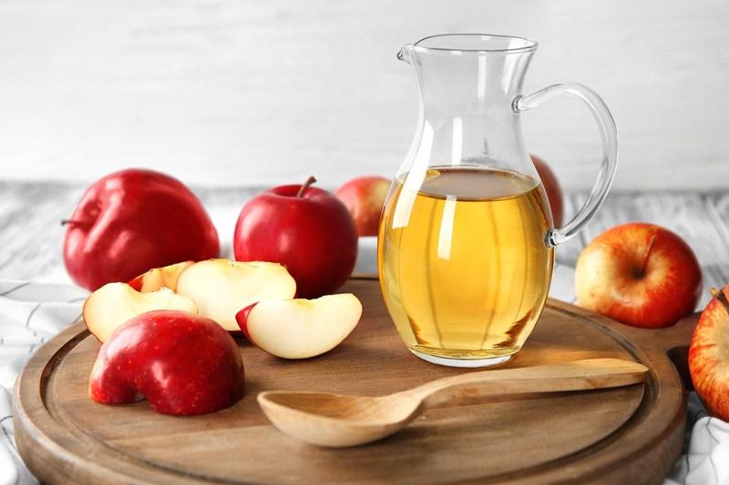 giấm táo dạng nước
