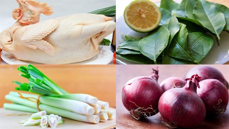 Nguyên liệu món ăn 2 cách làm gà ủ muối hoa tiêu và hấp muối sả