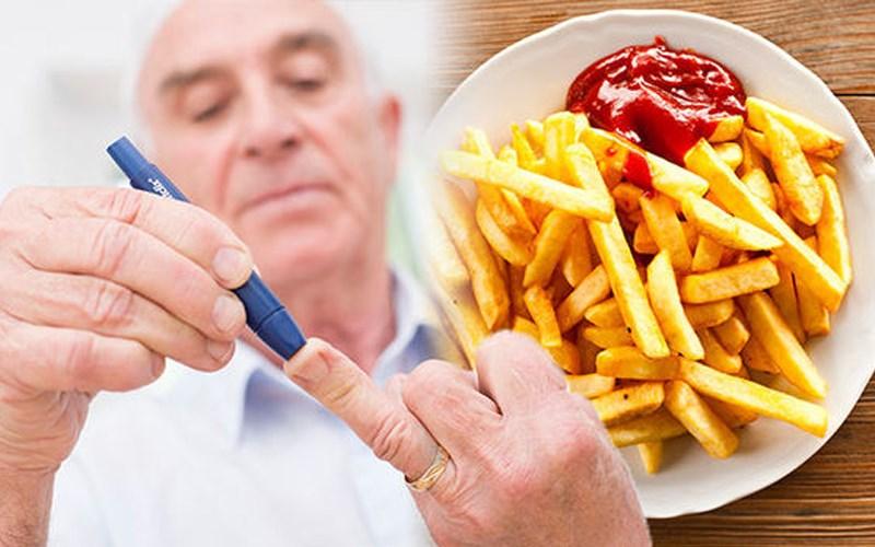 Ăn khoai tây chiên nhiều dễ mắc bệnh tim mạch, tiểu đường