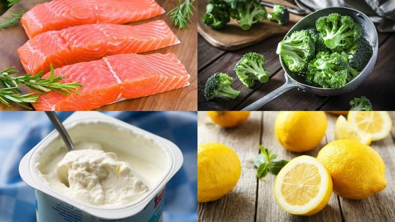 Nguyên liệu món ăn 3 cách nấu cháo cá hồi cho bé ăn dặm