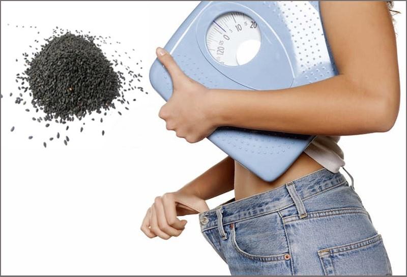 Mè đen giúp giảm cân