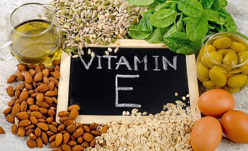 Hạnh nhân chứa nhiều vitamin E