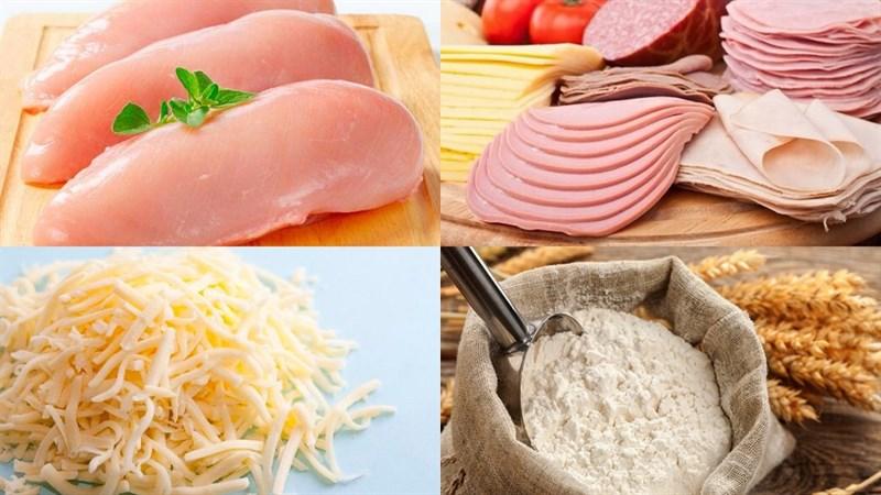 Nguyên liệu món ăn 2 cách làm ức gà nướng phô mai