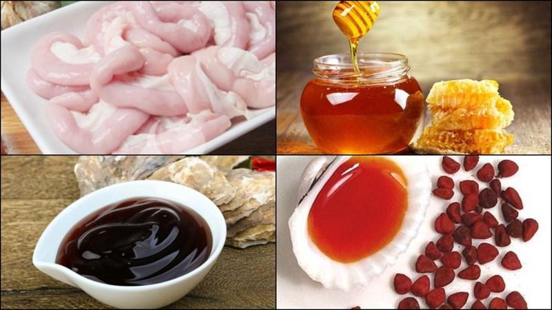 Nguyên liệu món ăn 3 món lòng nướng