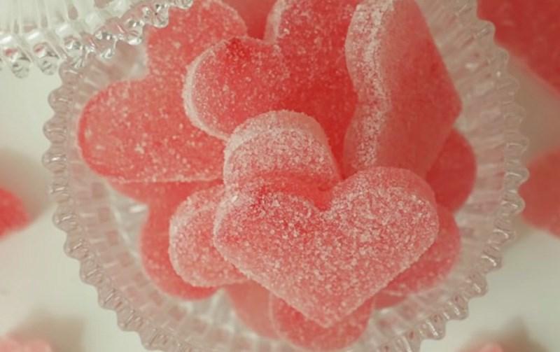 Kẹo Kuhakoto hoa hồng