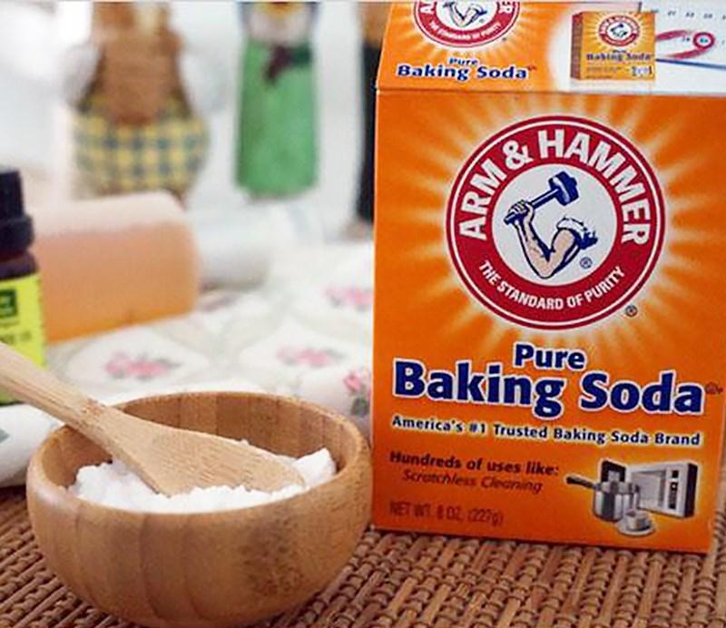 Baking soda có thể thay thế nước tro tàu