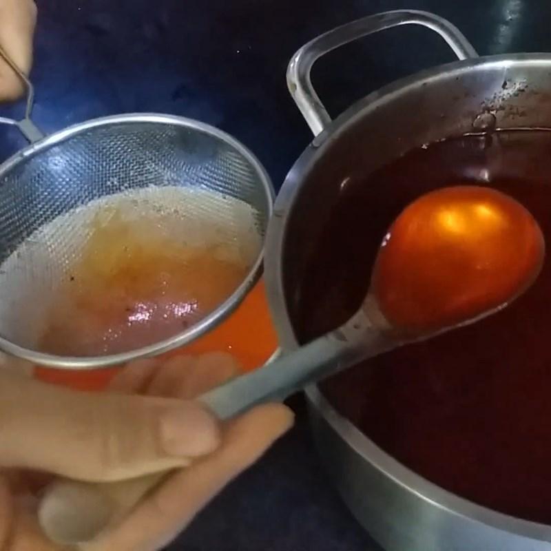Bước 4 Nấu dầu gấc Dầu gấc bằng nồi chiên không dầu