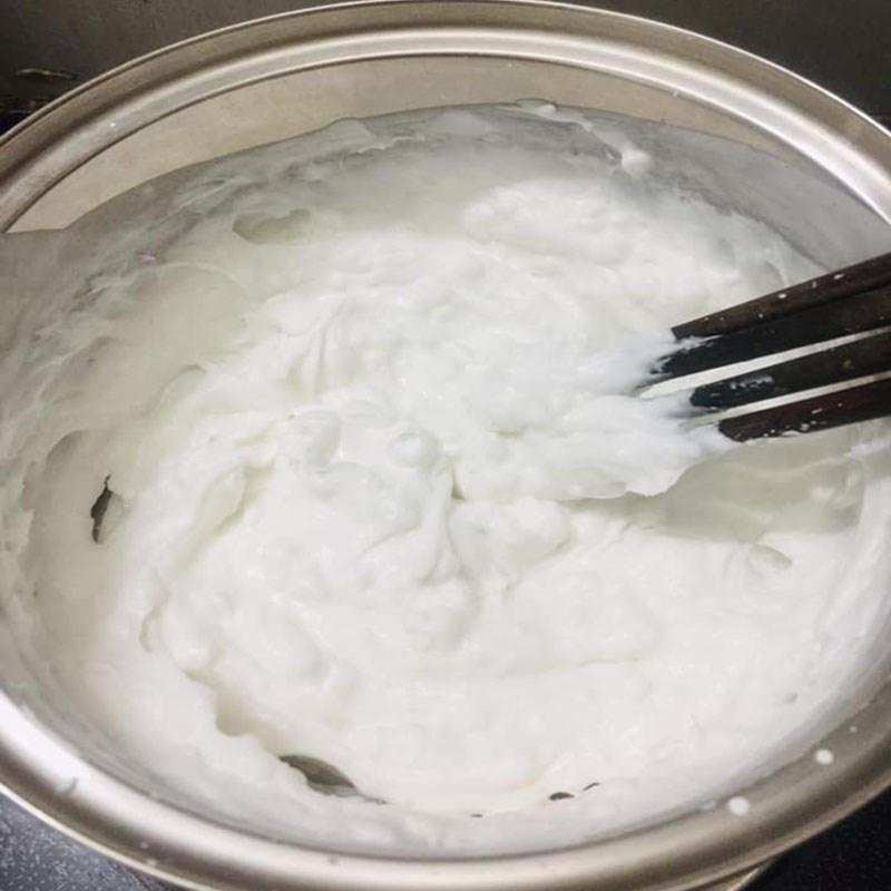 Bước 3 Làm bột bánh Bánh răng bừa (bánh tẻ)