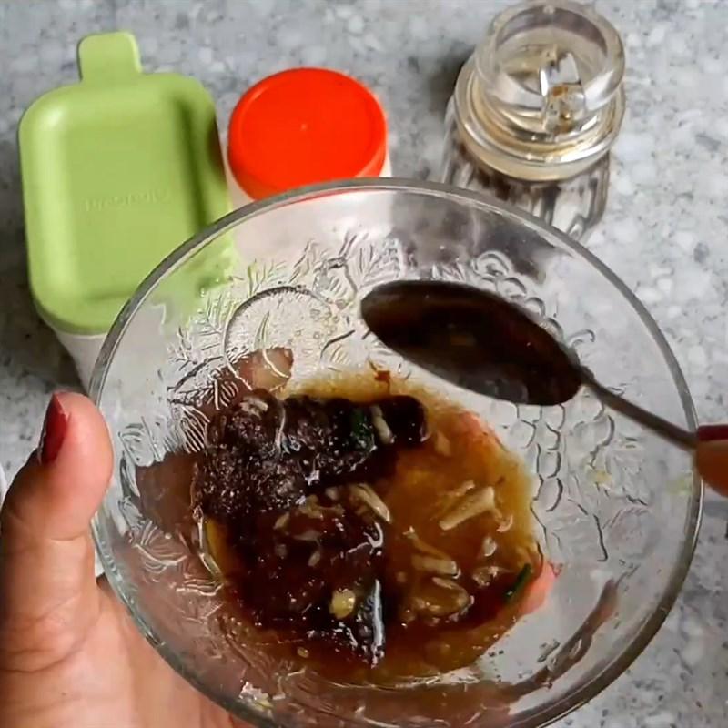Bước 4 Làm nước chấm Cá lăng nướng sả nghệ