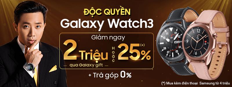 Galaxy Watch3[break]Giảm Ngay 2 Triệu