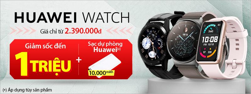 Huawei Watch[break]Giảm Đến 1 triệu