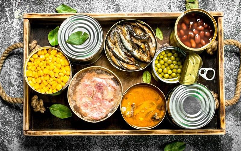 chất ổn định có trong đồ ăn đóng hộp