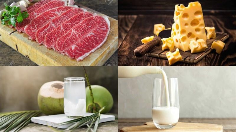 Nguyên liệu món ăn bò nướng chén 4 loại sốt