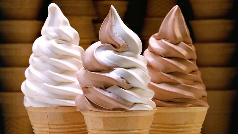 Soft - serve ice cream