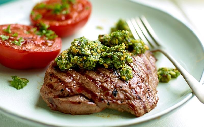 Steak cừu