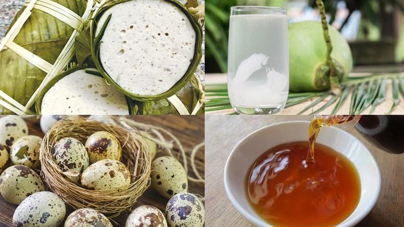 Nguyên liệu món ăn 3 cách làm chả lụa kho tiêu, trứng và thịt