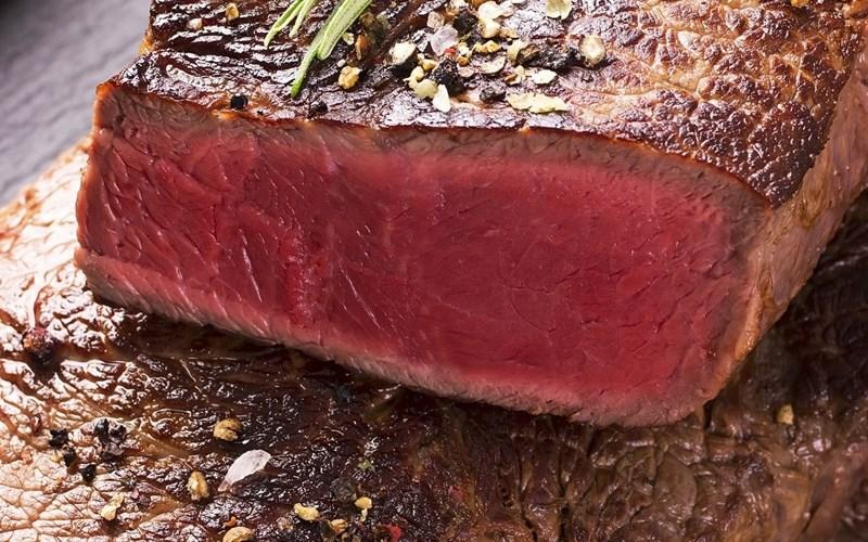 Tái sống (Blue rare - Extra rare - Blue) steak