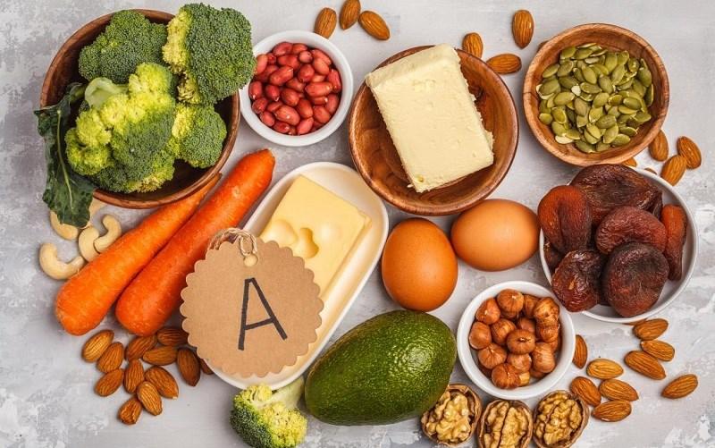 Ăn uống thực phẩm chứa vitamin A
