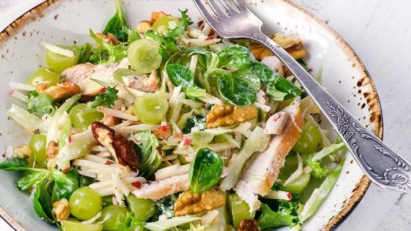 Salad cải xoong