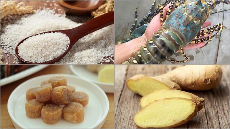 Nguyên liệu món ăn 2 cách nấu cháo hải sản