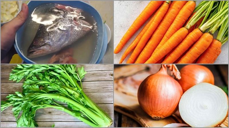 Nguyên liệu món ăn 5 cách nấu nước dùng thông dụng