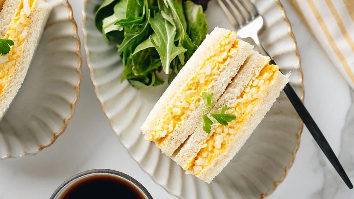 4 món sandwich trứng - egg sandwich
