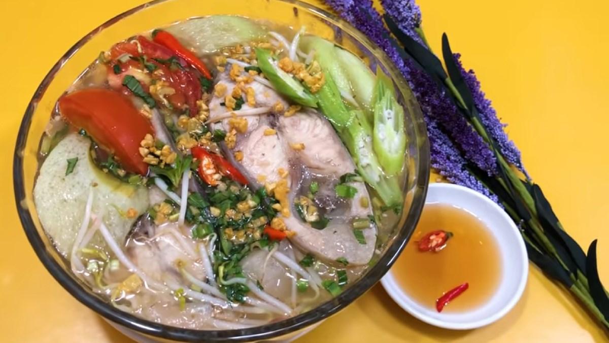3 cách nấu canh chua cá hú