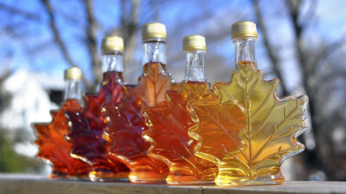 Maple syrup - si rô cây phong