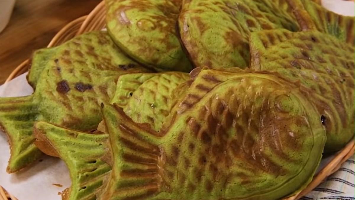 Cách làm kem cá matcha - bánh Taiyaki matcha thơm ngon thực hiện chỉ 3 bước