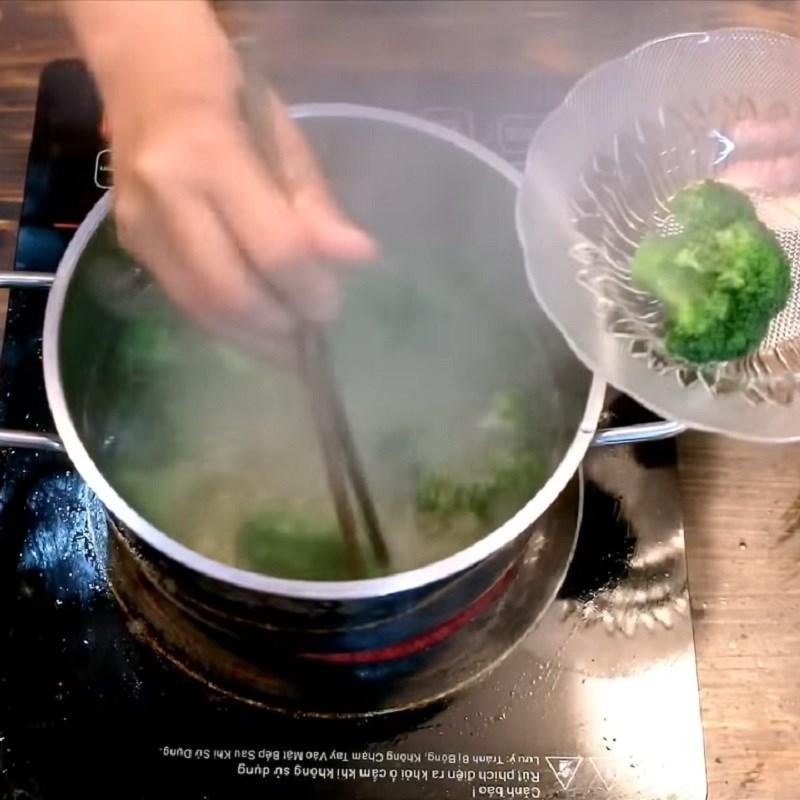Bước 2 Sơ chế nguyên liệu Cơm bento gấu trúc