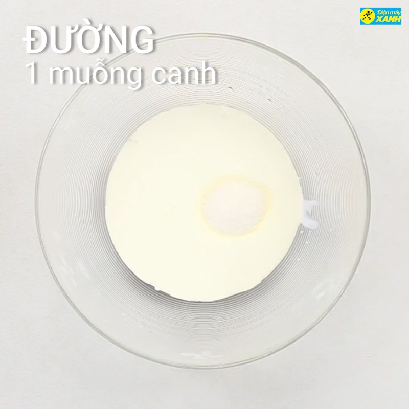 Bước 3 Làm hỗn hợp kem Kem bơ