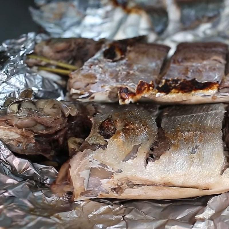 Bước 4 Thành phẩm Cá sòng nướng giấy bạc