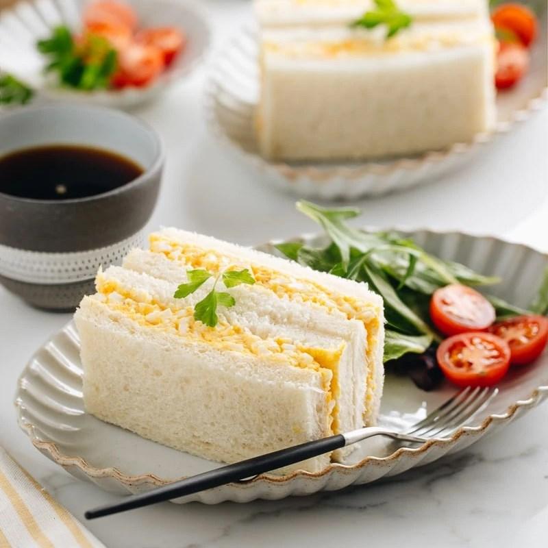 Bước 4 Thành phẩm Sandwich trứng kiểu Nhật