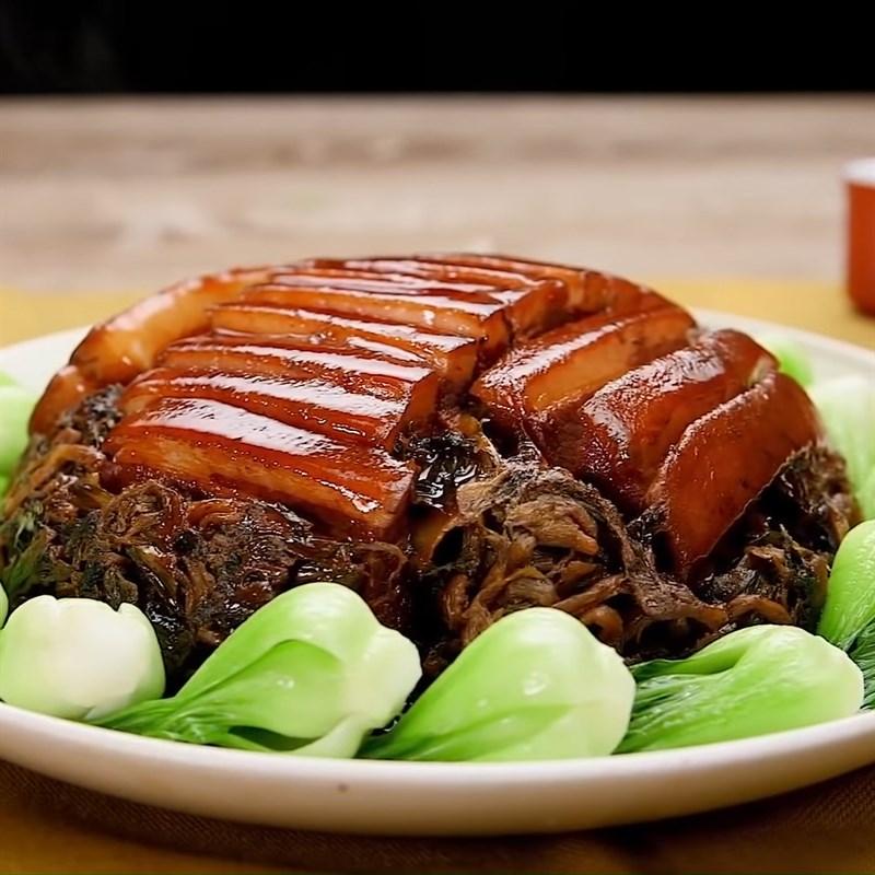 Bước 8 Thành phẩm Thịt khâu nhục Quảng Đông