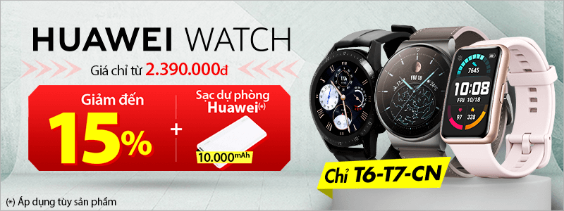 Huawei Watch[break]Giảm Đến 15%