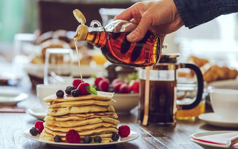 Maple syrup dùng làm gì?