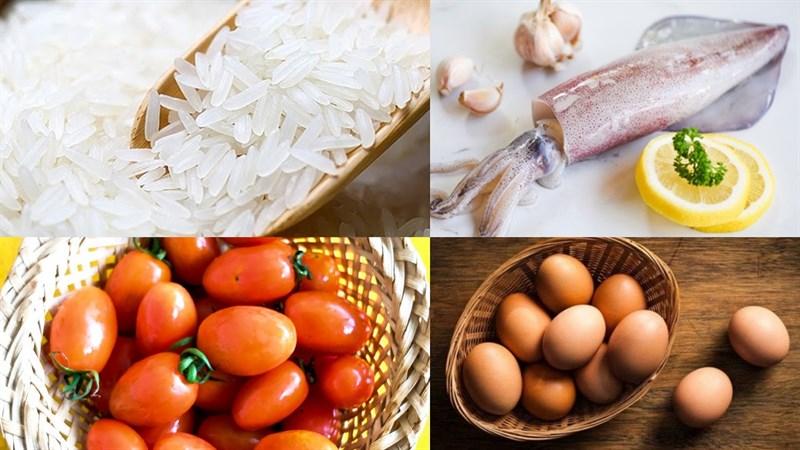 Nguyên liệu món ăn 2 cách làm cơm bento