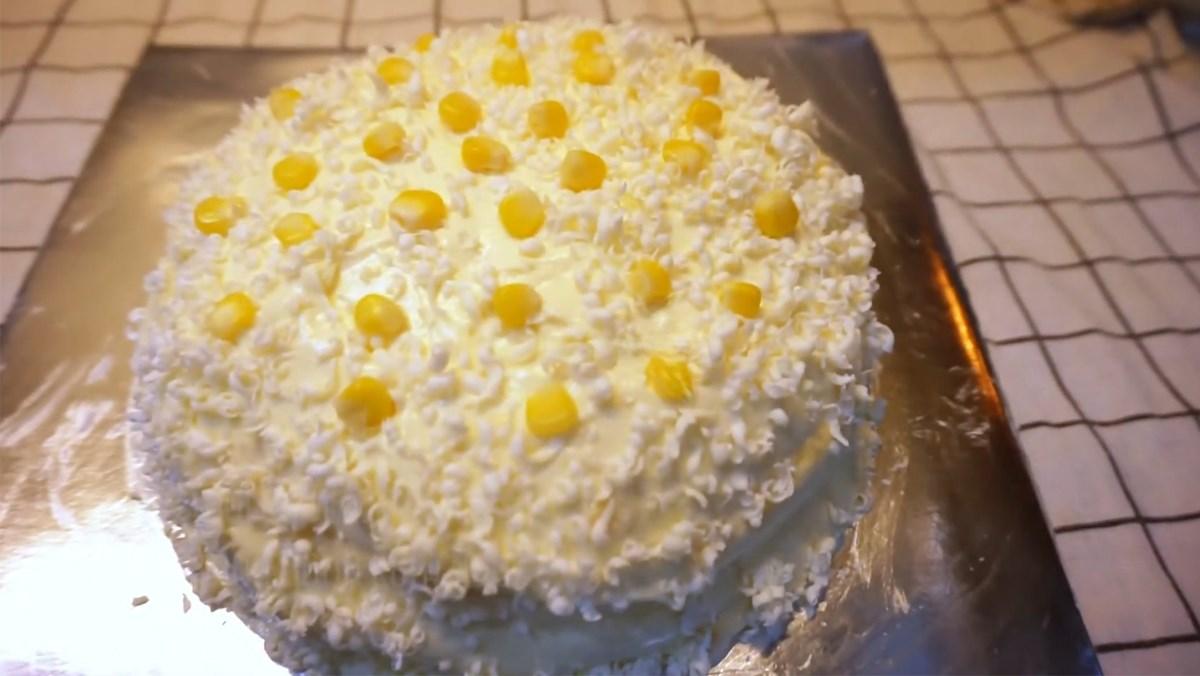 Cách làm bánh kem bắp béo ngọt, mềm mịn, thơm ngon khó cưỡng