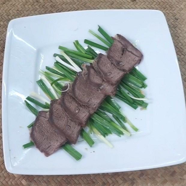 Thịt bò rim khô