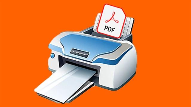 Phần mềm in file PDF